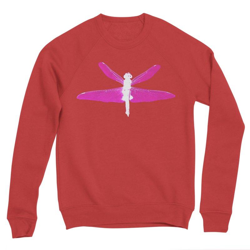 Dragonfly (Pink) Women's Sponge Fleece Sweatshirt by 7thSin Apparel