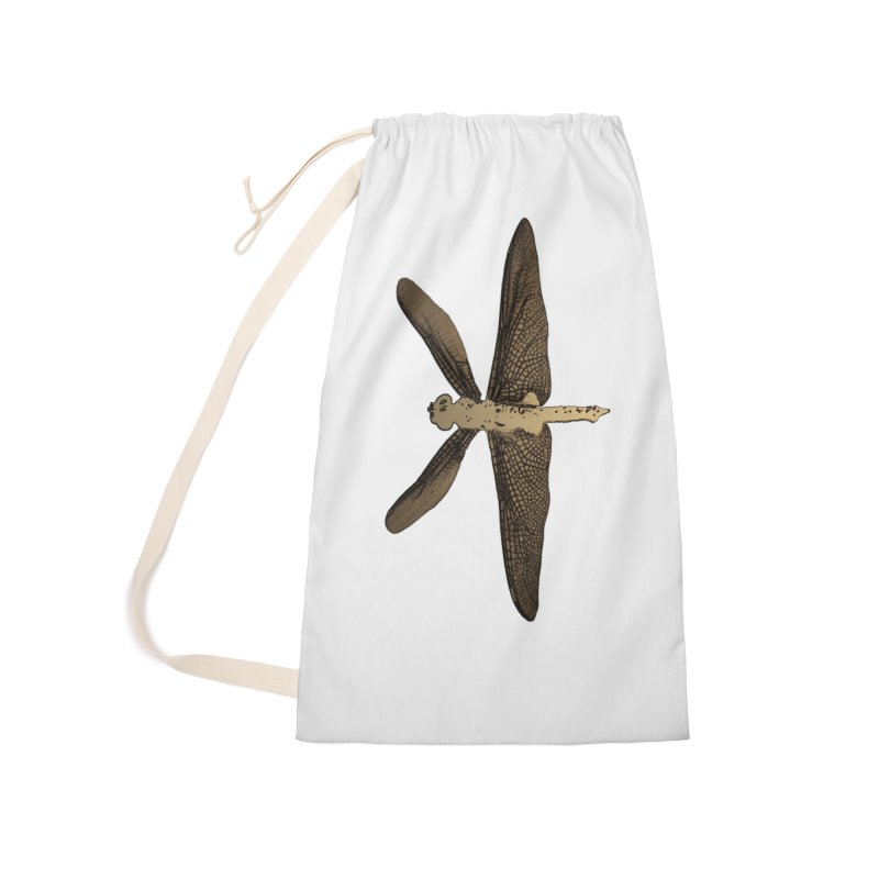 Dragonfly (Vintage) Accessories Laundry Bag Bag by 7thSin Apparel
