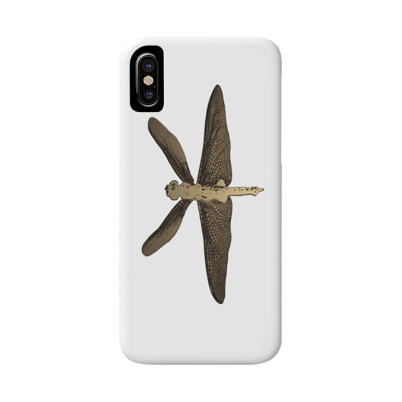 Dragonfly (Vintage) Accessories Phone Case by 7thSin Apparel