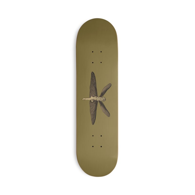 Dragonfly (Vintage) Accessories Deck Only Skateboard by 7thSin Apparel