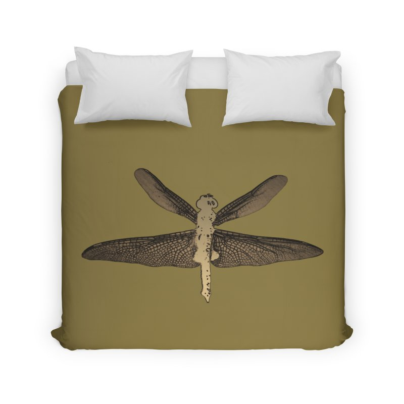 Dragonfly (Vintage) Home Duvet by 7thSin Apparel