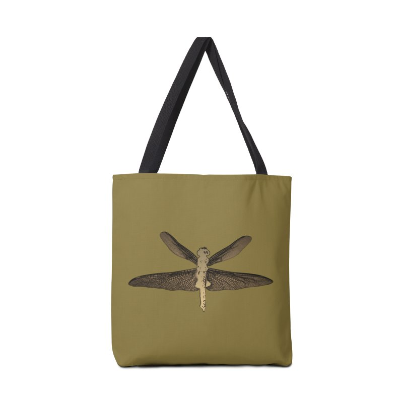 Dragonfly (Vintage) Accessories Tote Bag Bag by 7thSin Apparel