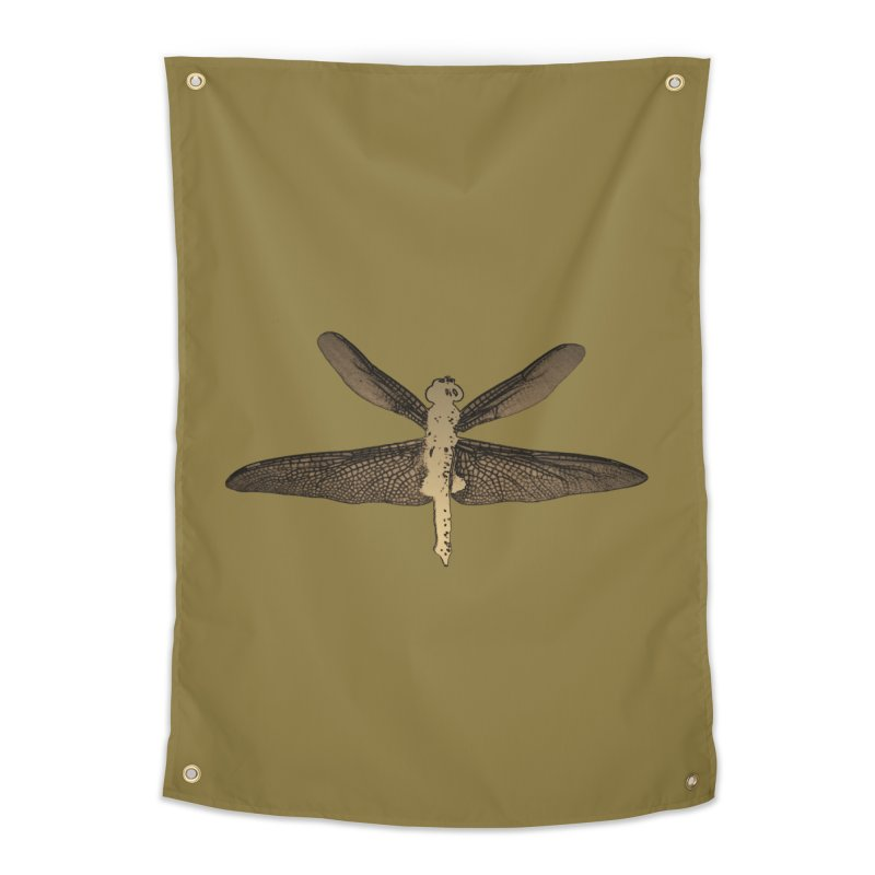 Dragonfly (Vintage) Home Tapestry by 7thSin Apparel