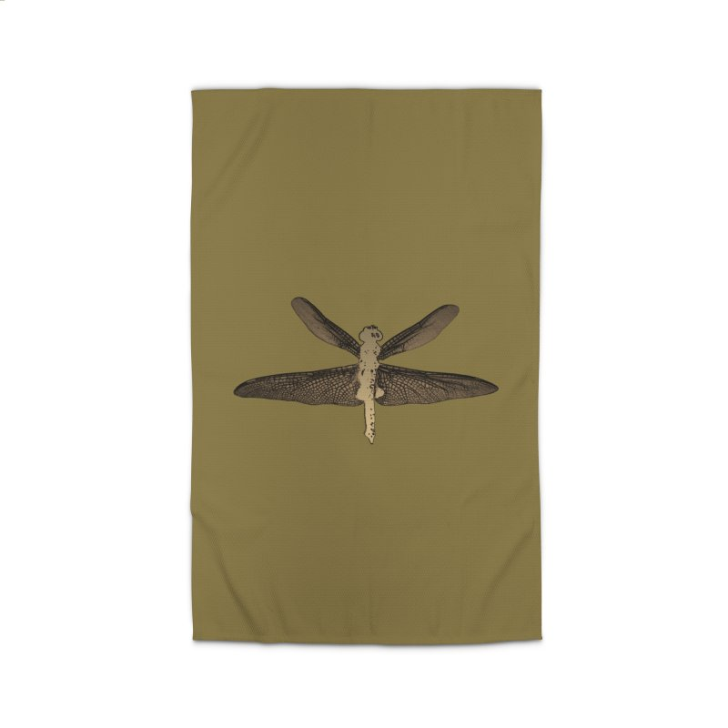 Dragonfly (Vintage) Home Rug by 7thSin Apparel