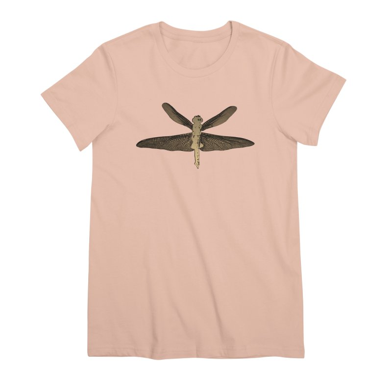 Dragonfly (Vintage) Women's Premium T-Shirt by 7thSin Apparel