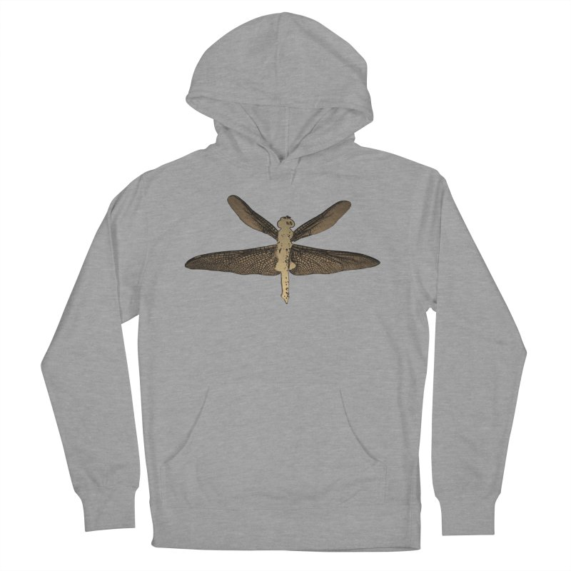 Dragonfly (Vintage) Women's French Terry Pullover Hoody by 7thSin Apparel