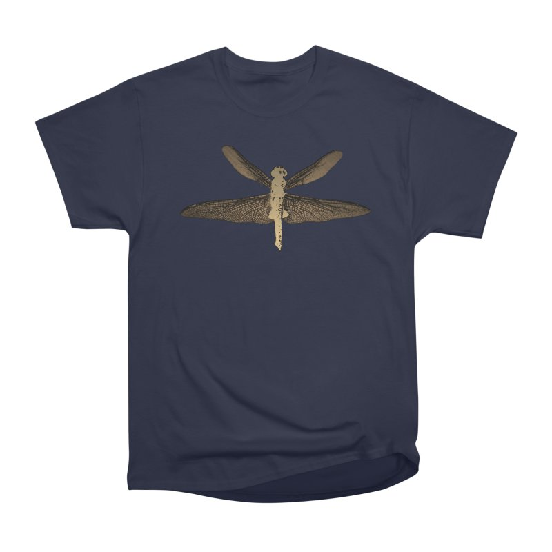 Dragonfly (Vintage) Women's Heavyweight Unisex T-Shirt by 7thSin Apparel
