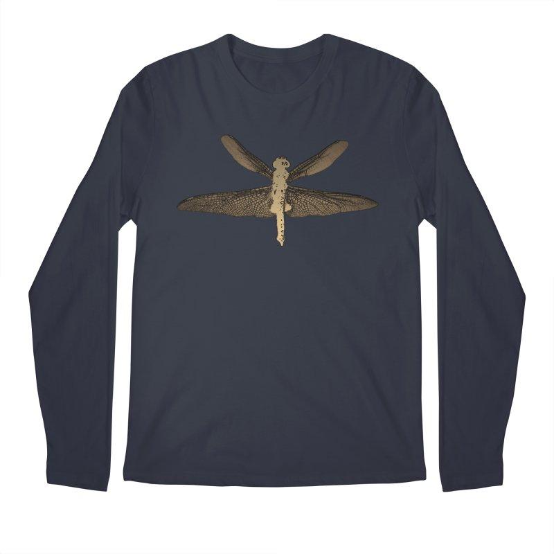 Dragonfly (Vintage) Men's Regular Longsleeve T-Shirt by 7thSin Apparel