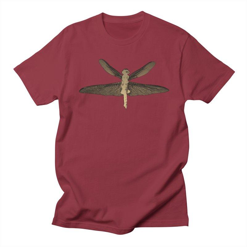 Dragonfly (Vintage) Men's Regular T-Shirt by 7thSin Apparel
