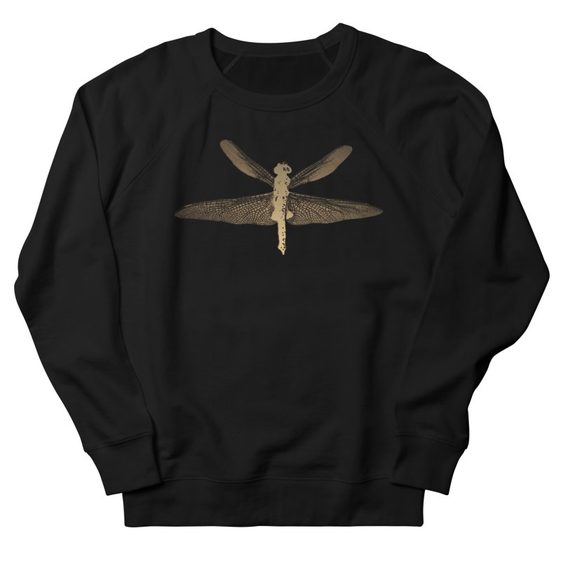 Dragonfly (Vintage) Women's French Terry Sweatshirt by 7thSin Apparel