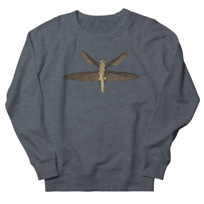Dragonfly (Vintage) Men's French Terry Sweatshirt by 7thSin Apparel