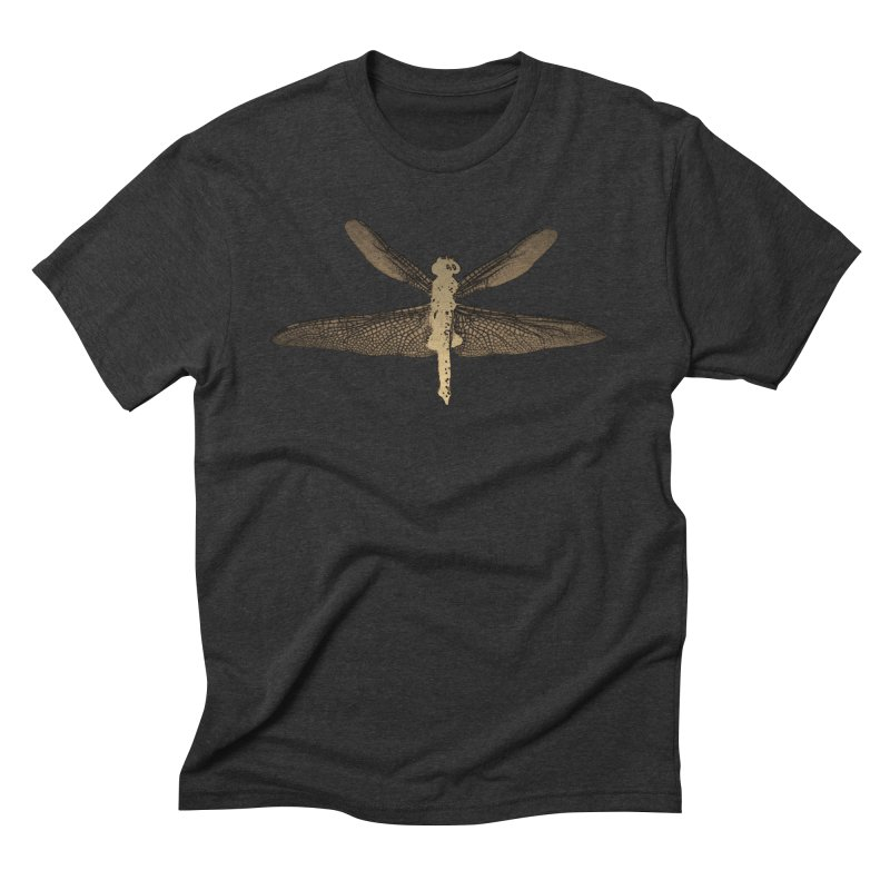 Dragonfly (Vintage) Men's Triblend T-Shirt by 7thSin Apparel