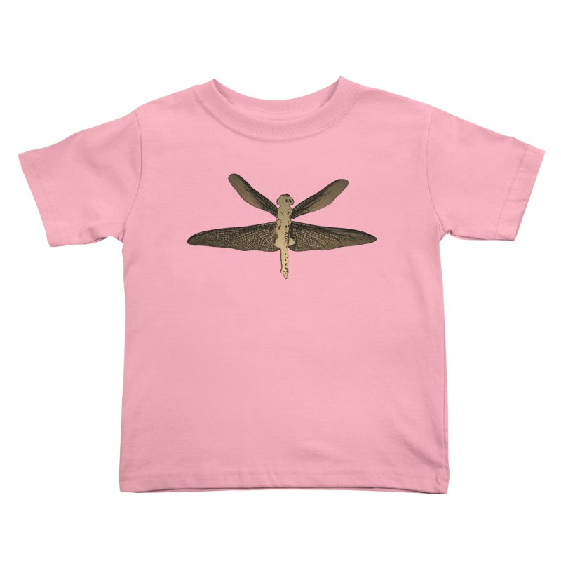 Dragonfly (Vintage) Kids Toddler T-Shirt by 7thSin Apparel
