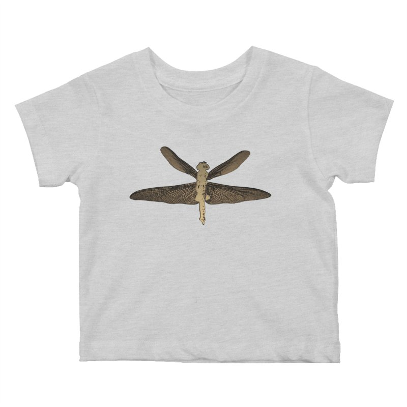 Dragonfly (Vintage) Kids Baby T-Shirt by 7thSin Apparel