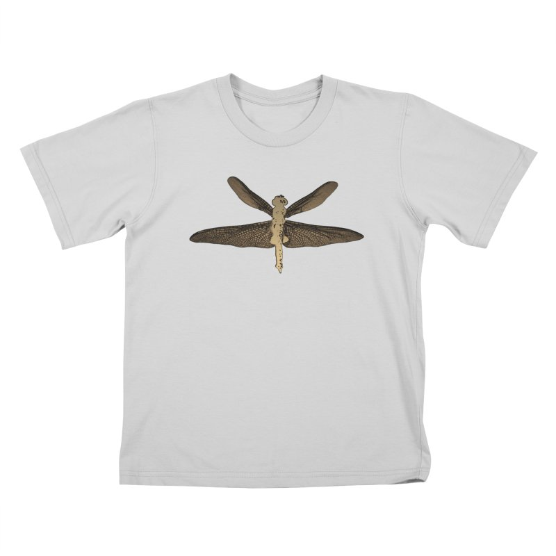 Dragonfly (Vintage) Kids T-Shirt by 7thSin Apparel