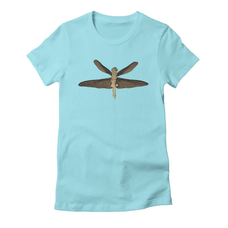 Dragonfly (Vintage) Women's Fitted T-Shirt by 7thSin Apparel