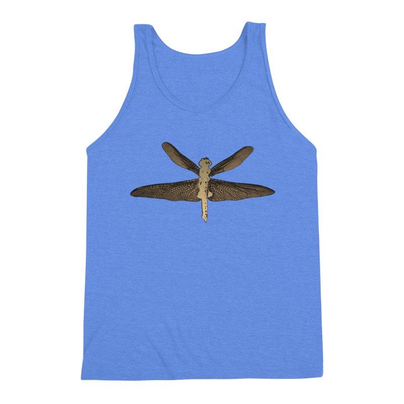 Dragonfly (Vintage) Men's Triblend Tank by 7thSin Apparel