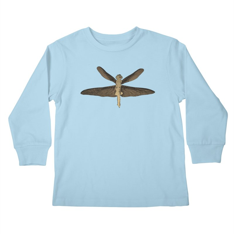 Dragonfly (Vintage) Kids Longsleeve T-Shirt by 7thSin Apparel
