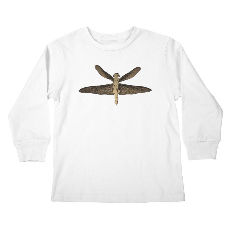 Dragonfly (Vintage) Kids Longsleeve T-Shirt by 7thSin Apparel