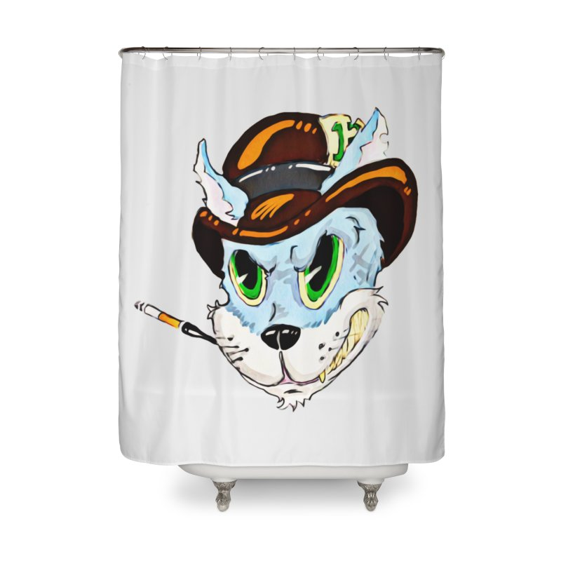 Tommy Home Shower Curtain by 7thSin Apparel