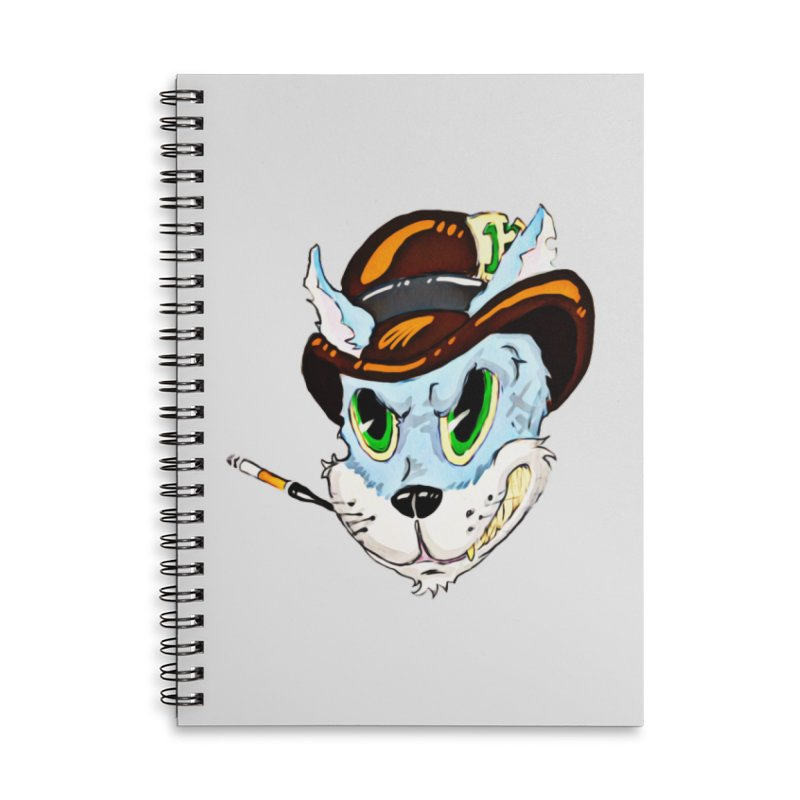 Tommy Accessories Lined Spiral Notebook by 7thSin Apparel