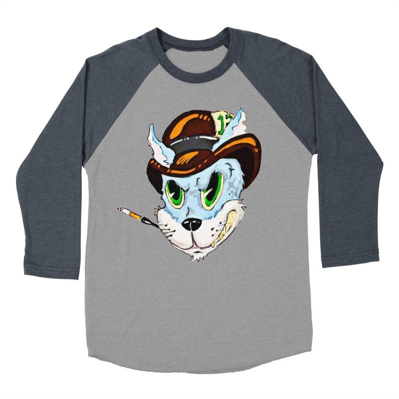 Tommy Men's Baseball Triblend Longsleeve T-Shirt by 7thSin Apparel