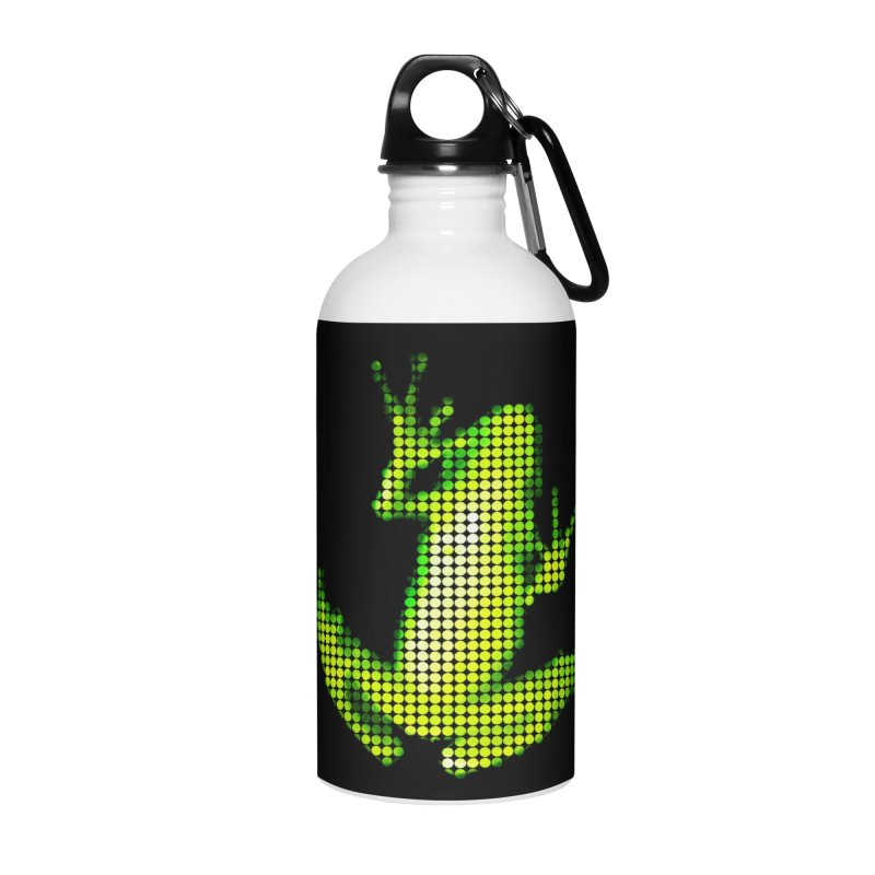 Frog Matrix Accessories Water Bottle by 7thSin Apparel