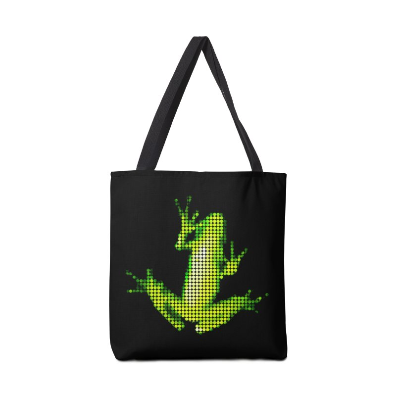 Frog Matrix Accessories Tote Bag Bag by 7thSin Apparel