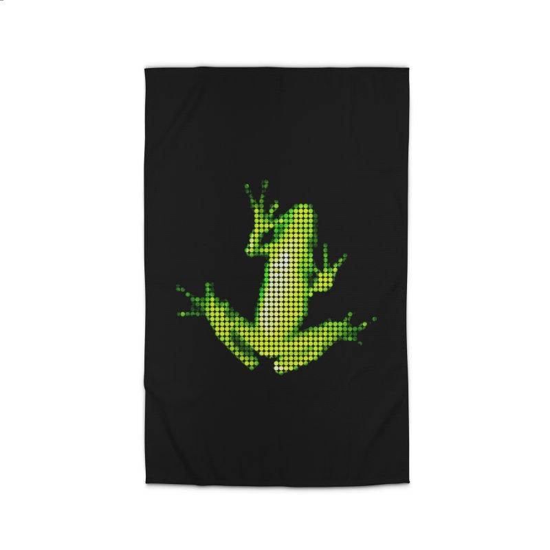 Frog Matrix Home Rug by 7thSin Apparel