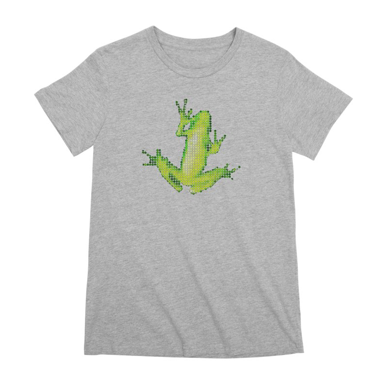 Frog Matrix Women's Premium T-Shirt by 7thSin Apparel