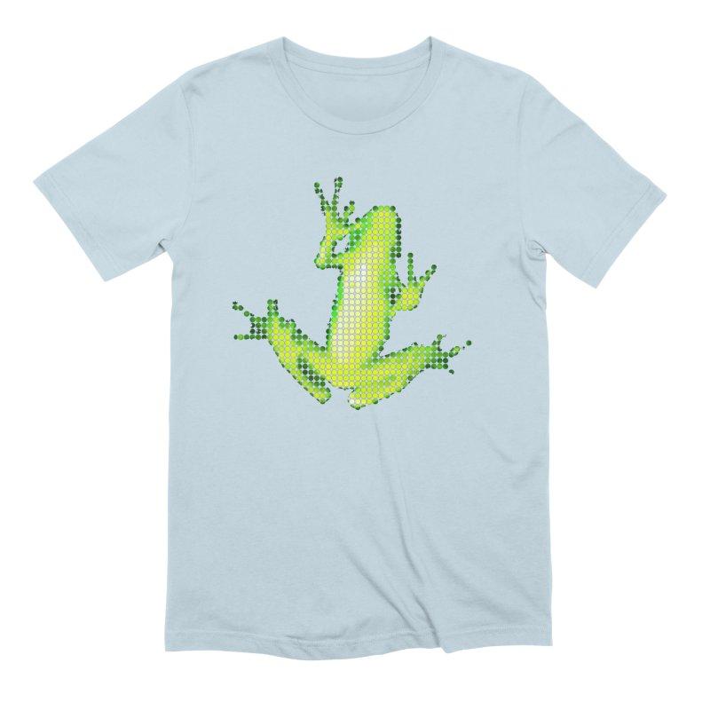 Frog Matrix Men's Extra Soft T-Shirt by 7thSin Apparel