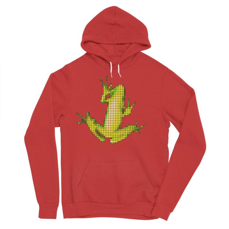 Frog Matrix Women's Sponge Fleece Pullover Hoody by 7thSin Apparel