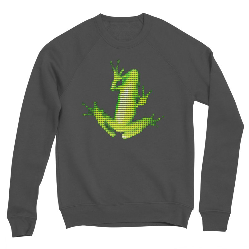 Frog Matrix Women's Sponge Fleece Sweatshirt by 7thSin Apparel