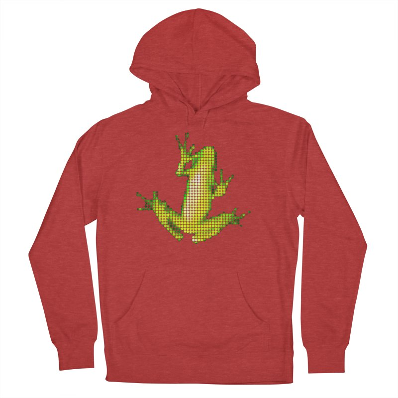 Frog Matrix Women's French Terry Pullover Hoody by 7thSin Apparel
