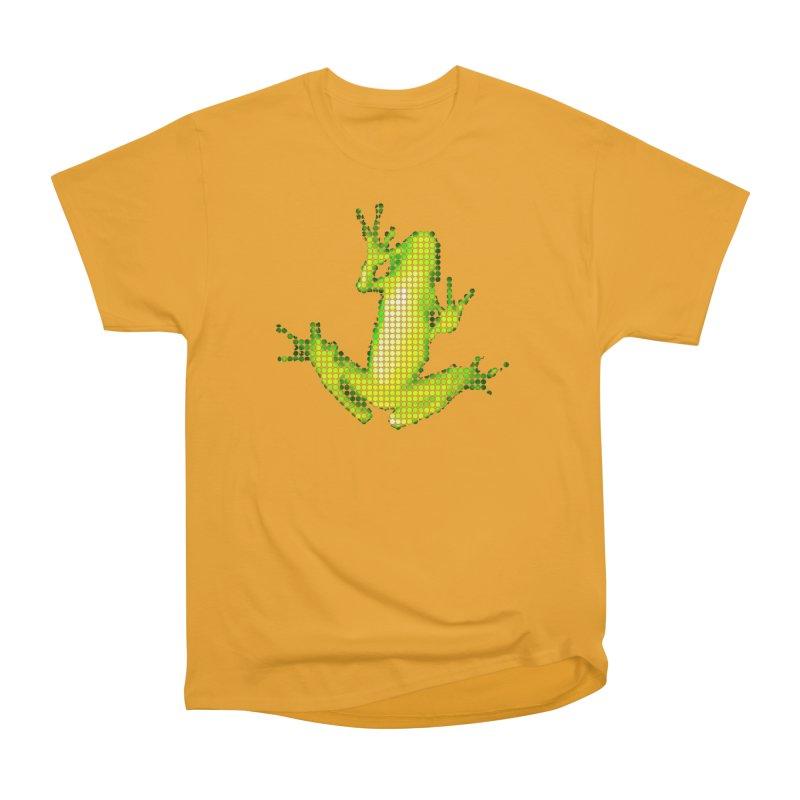 Frog Matrix Women's Heavyweight Unisex T-Shirt by 7thSin Apparel