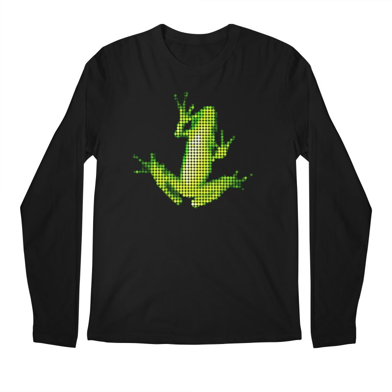 Frog Matrix Men's Regular Longsleeve T-Shirt by 7thSin Apparel