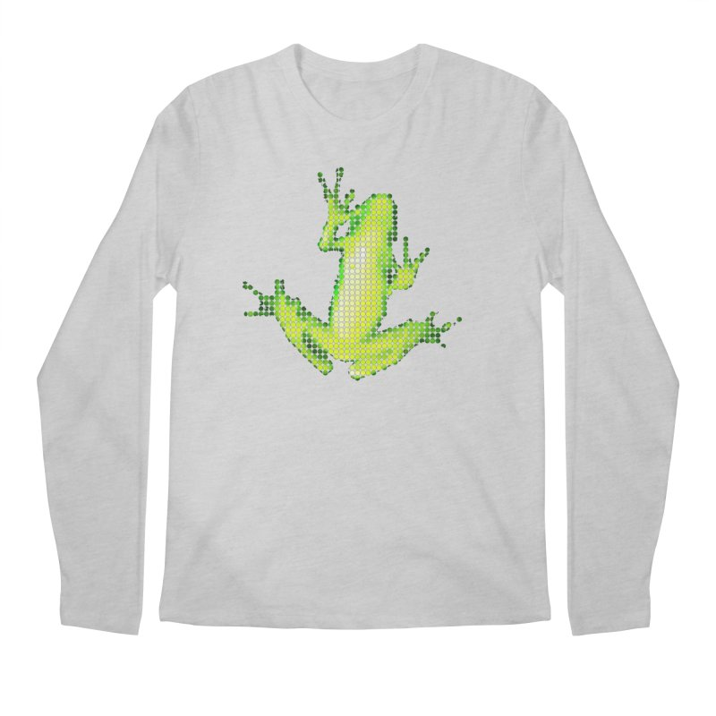 Frog Matrix Men's Regular Longsleeve T-Shirt by 7thSin Apparel