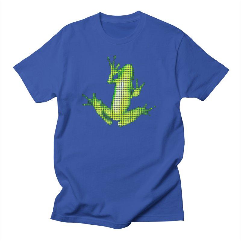 Frog Matrix Men's Regular T-Shirt by 7thSin Apparel