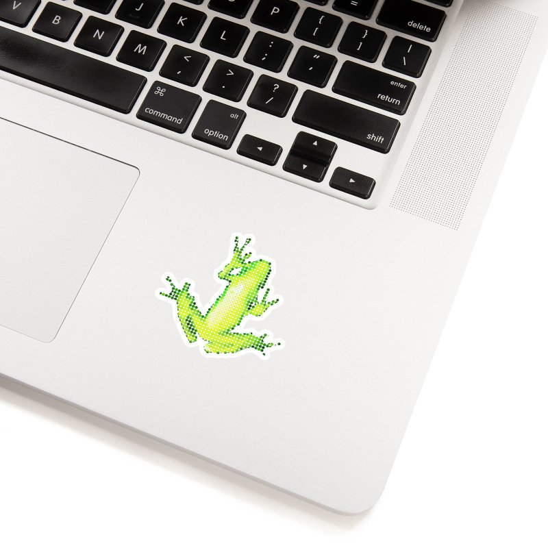 Frog Matrix Accessories Sticker by 7thSin Apparel