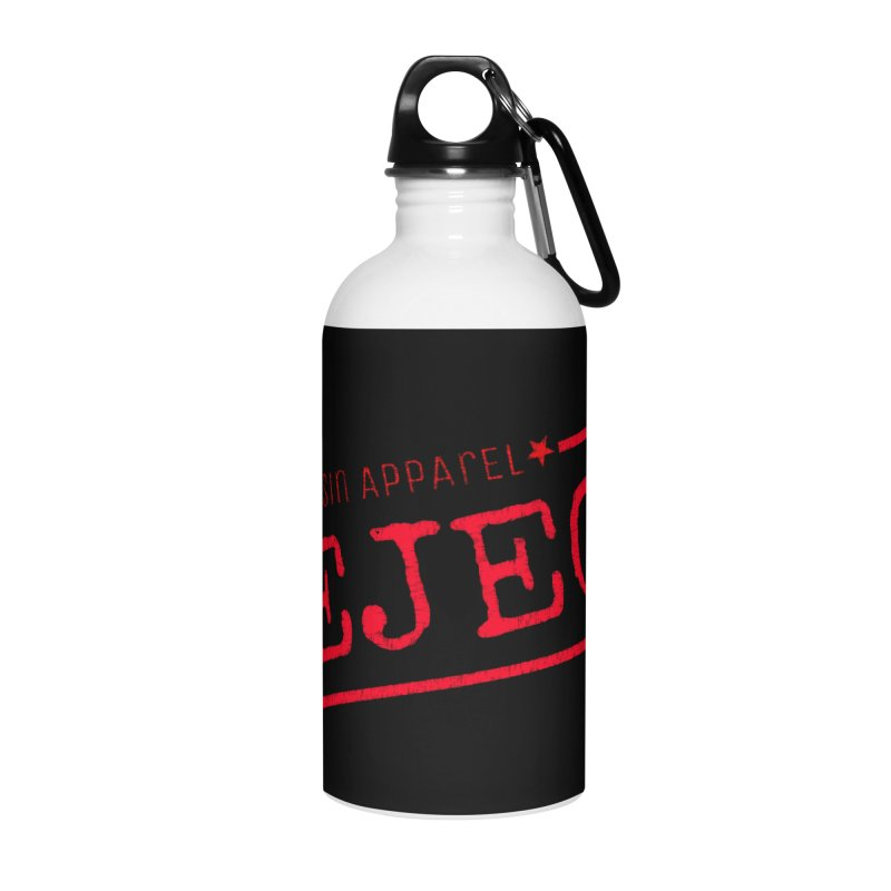 REJECT (7thSin logo) Accessories Water Bottle by 7thSin Apparel
