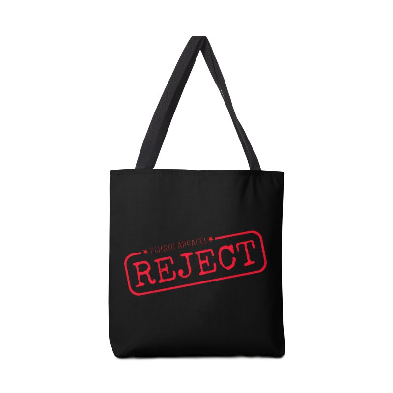 REJECT (7thSin logo) Accessories Tote Bag Bag by 7thSin Apparel