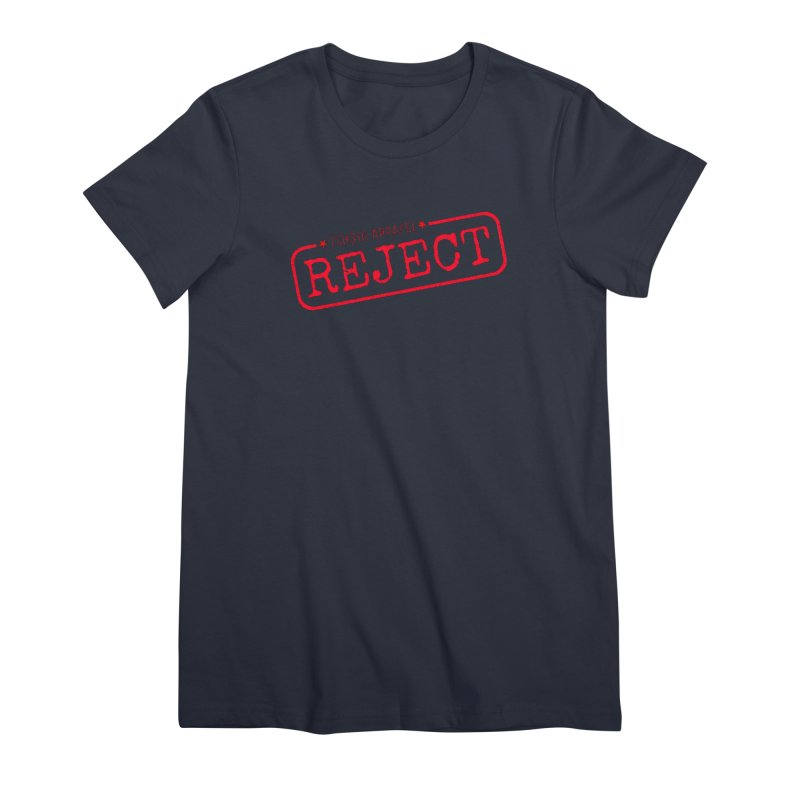 REJECT (7thSin logo) Women's Premium T-Shirt by 7thSin Apparel