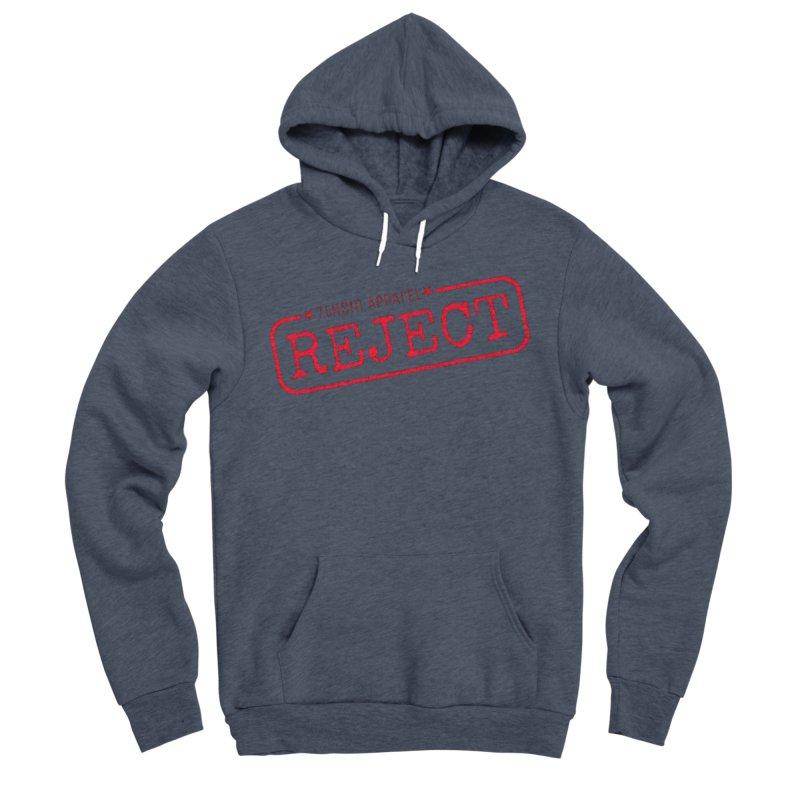 REJECT (7thSin logo) Women's Sponge Fleece Pullover Hoody by 7thSin Apparel