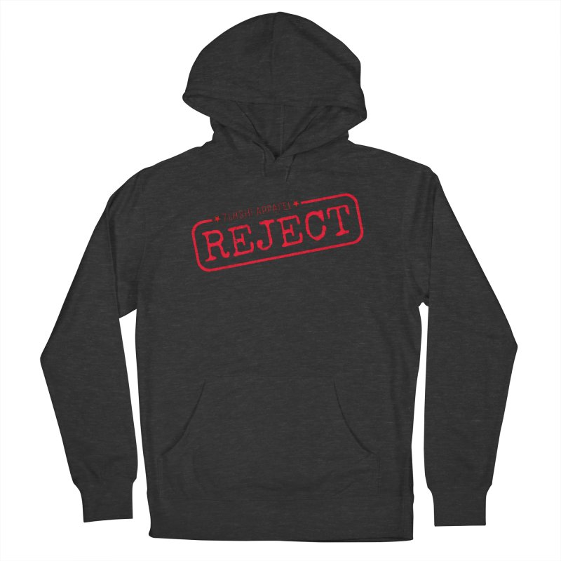 REJECT (7thSin logo) Men's French Terry Pullover Hoody by 7thSin Apparel