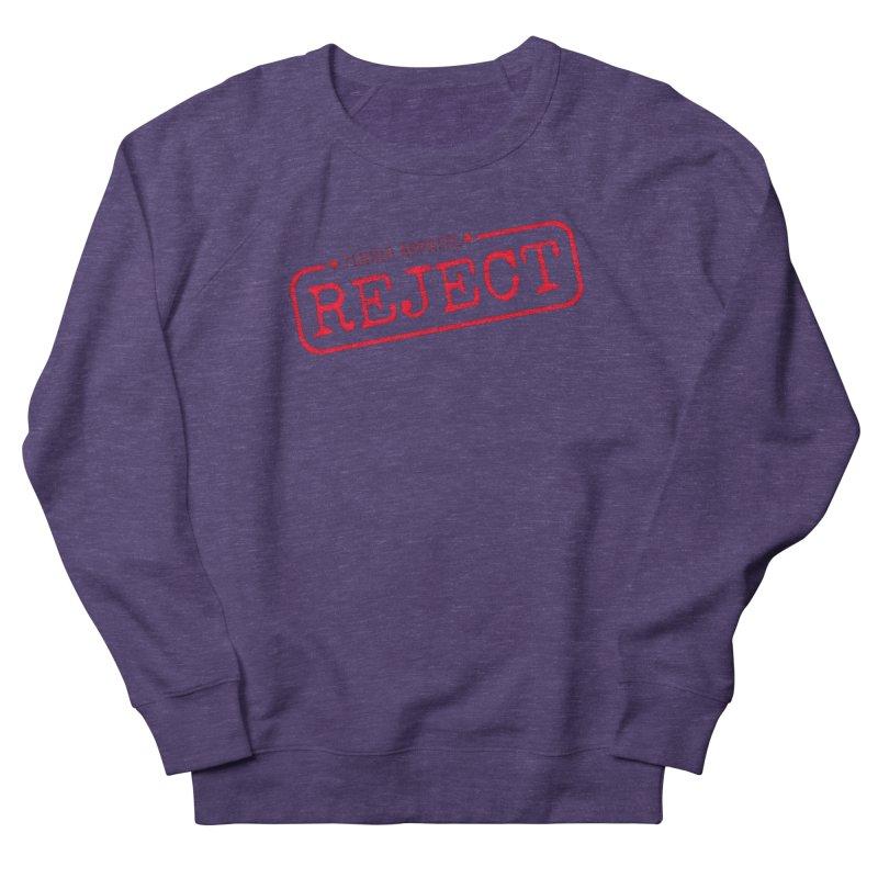 REJECT (7thSin logo) Women's French Terry Sweatshirt by 7thSin Apparel