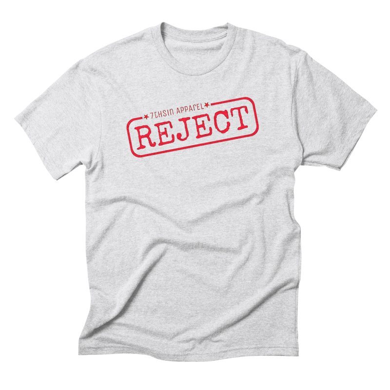REJECT (7thSin logo) Men's Triblend T-Shirt by 7thSin Apparel