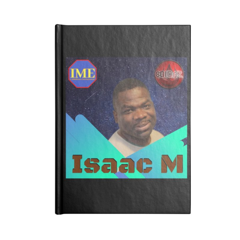 Isaac M - Poster Accessories Lined Journal Notebook by 8010az's Shop