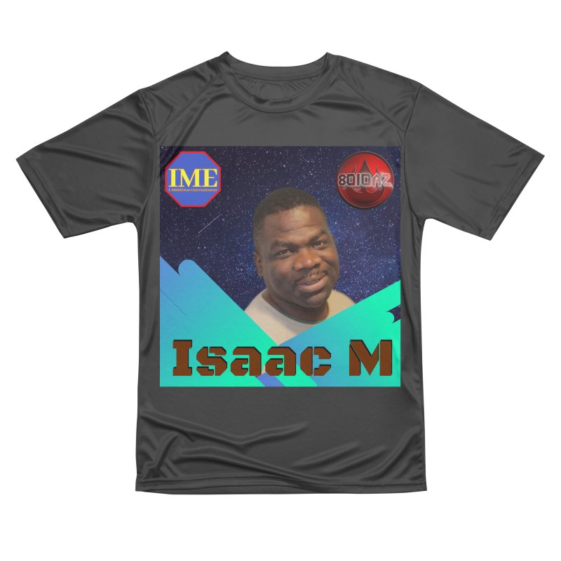 Isaac M - Poster Men's Performance T-Shirt by 8010az's Shop
