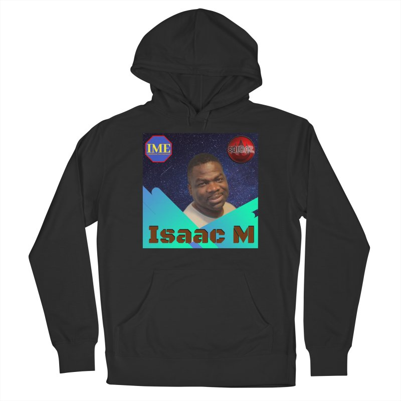 Isaac M - Poster Women's French Terry Pullover Hoody by 8010az's Shop