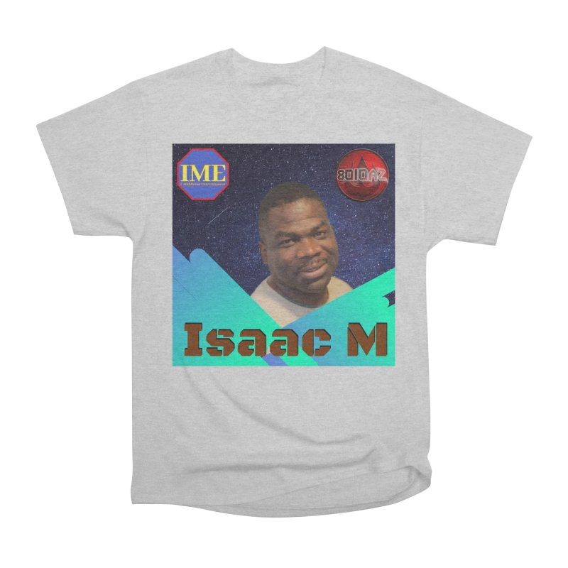 Isaac M - Poster Men's T-Shirt by 8010az's Shop